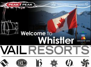 Rachat de Whistler Blackcomb par Vail Resorts