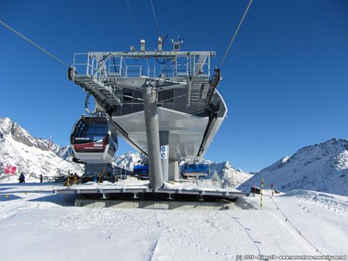 Gletscherbahn Moosfluh