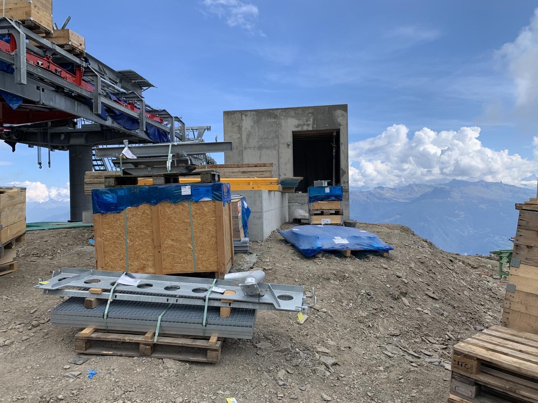 Construction TSD4 | Les Luys - Pas de Maimbré | Anzère ( Suisse ) Index
