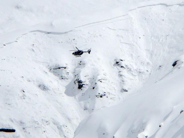 Avalanche à Val Cenis