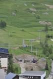 Pr�paration de la nouvelle gare de d�part - 09/06/2012