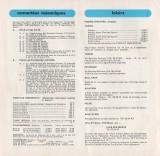 Liste remont�es 1973