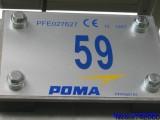 plaque numero/TSF 2 cote 2000 la clusaz