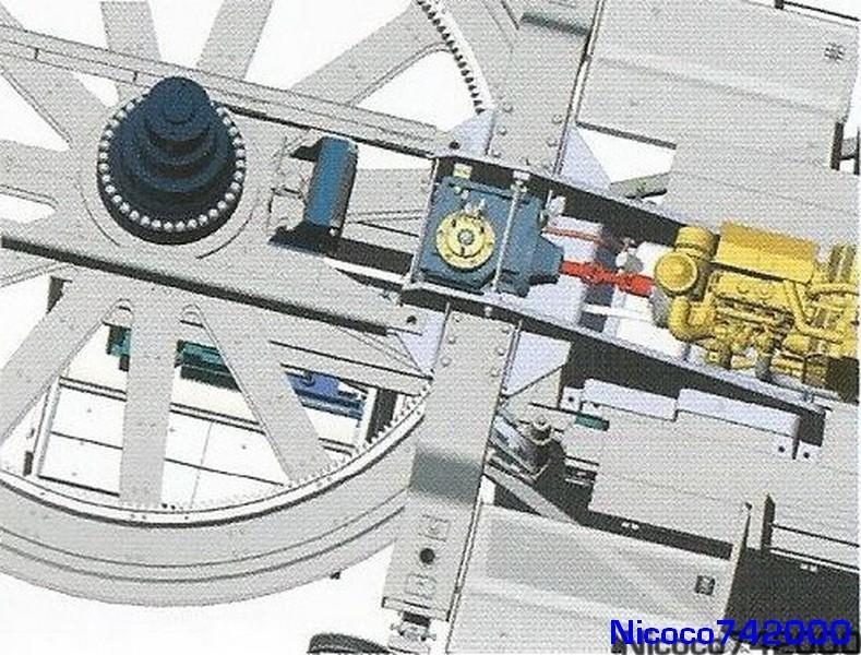 gare MI7 GMM 3 (motorisation de secour)
