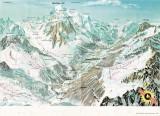 Vallée de Chamonix hiver 1974
