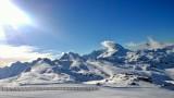 La Muzelle depuis les pistes à 2700 m le 10 janvier 2015