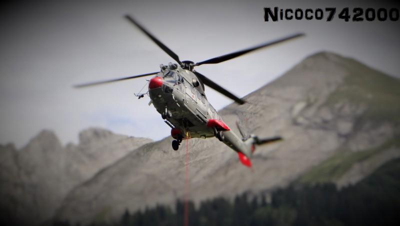 fond pour grand ecran heliportage bossonnet