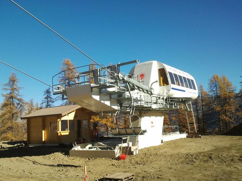 Construction TSF4 des Bruyères