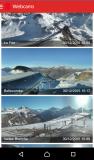 Copie d'écran application Les 2 Alpes le 30/12/2015