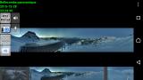 copie d'écran IP Cam Viewer avec image panoramique caméra Bellecombe