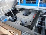 L'ensemble poulie et motorisation est monté sur un lorry afin d'anticiper l'allongement naturel du câble.JPG