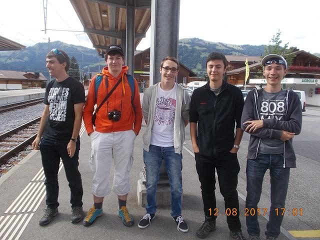 photo de groupe Gstaad