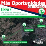 Linea 3, TCD10 Cable aéreo Manizales - Palogrande (Colombia)