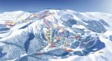 Plan du domaine skiable du Lioran