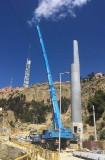 Pilona TCD10 Linea Morada, La Paz, Mi Teleférico - Bolivia