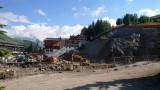 Construction de la résidence La Porte des Deux Alpes le 25/06/2018