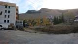 Terrassement pour les nouvelles résidences Les Glaciers le 21/10/2018