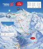 Plan des pistes Hintertuxer Gletscher