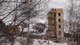 Démolition de la résidence Les Glaciers le 13/12/2018