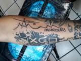 Tatoo Logo Alcaldia de Manizales