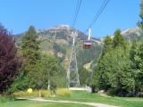 Vue du téléphérique de Jackson Hole