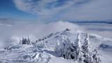 [Crozet-Lelex] Vue panoramique sur le Léman, avec nouveau TSCD6-10 Bergers et ancien TSF4 Bergers (hors service)