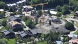 Construction du Chalet Les Glaciers et travaux sur les Chalets d'Or le 16 juin 2019