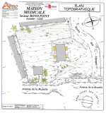 Plan topographique projet maison Médicale Croix des Limites