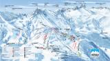 Plan des pistes Albiez (2019)