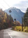 Passage sur route Villard Reculas