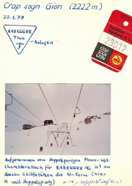 amont CSG 23.1.1977