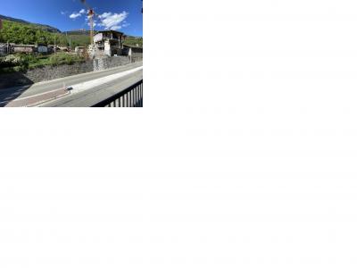 Image attachée: Le chantier depuis la nouvelle rampe d'accès.jpg