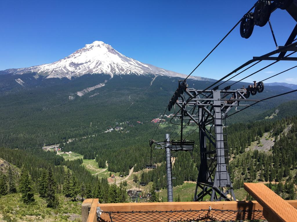 Vintage Chairlifts Photo